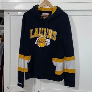 Vintage Mitchell & Ness Los Angeles lakers hoodie